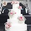 Свадебный торт. Торт свадебный кремовый, фото 2