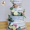 Свадебный торт. Торт свадебный кремовый, фото 5
