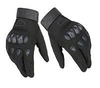 Тактические перчатки полнопалыеOakley черный