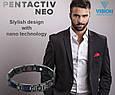 Браслет VISION PentActiv Neo мужской титановый с углеродными вставками, фото 4
