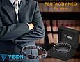 Браслет VISION PentActiv Neo мужской титановый с углеродными вставками, фото 6