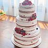 Свадебный торт. Торт свадебный кремовый, фото 10