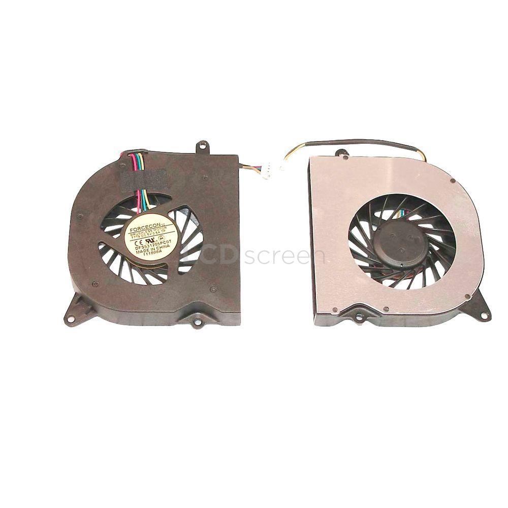 Вентилятор для ноутбука Asus F6 5V 0.5A 4-pin Forcecon