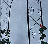Металева садова арка 225см, фото 7