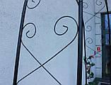 Металева садова арка 225см, фото 9