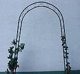Металева садова арка 225см, фото 10