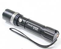 Карманный фонарик BL-8628 + крепление для велосипеда + аккумулятор 18650 + зарядное устройство