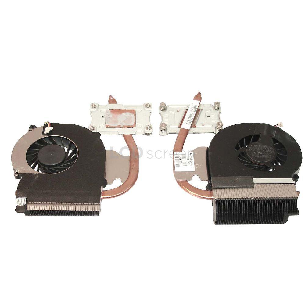 Система охлаждения для ноутбука HP 5V 0,4А 3-pin Forcecon Presario CQ43 (Intel Pentium c интегр. видео)