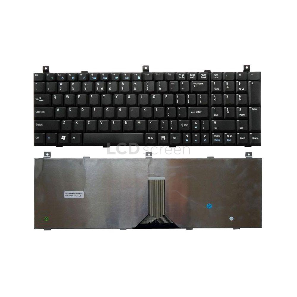 Клавиатура для ноутбука Acer Aspire (1800, 1801, 1802, 1804, 9500, 9502, 9503, 9504) черный, Русская