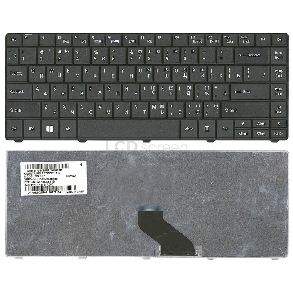 Клавиатура для ноутбука Acer Aspire E1-471 черный, Русская