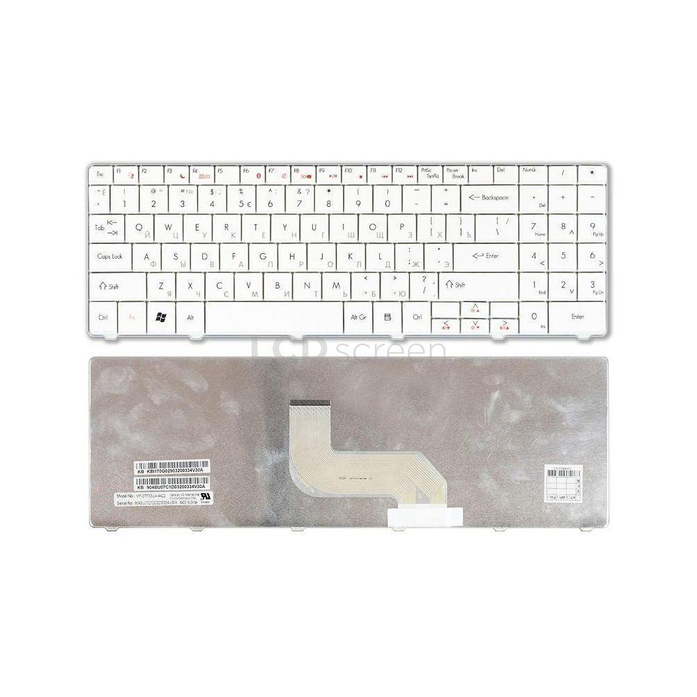 Клавиатура для ноутбука Acer Gateway (NV52) белый, Русская