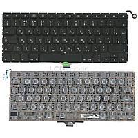 Клавиатура для ноутбука Apple MacBook Air (A1304) с подсветкой черный, (без фрейма), Русская (вертикальный энтер), фото 1
