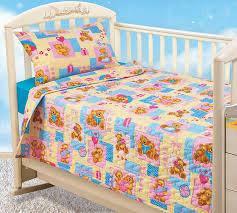 Комплекти постілі в дитяче ліжечко