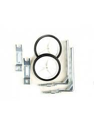 """Колеса вспомогательные пластмассовые для детского велосипеда диаметром колес от 12"""" до 20"""""""