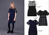 Школьная форма Моне 2019 г, школьное черное платье р-ры 146, фото 2