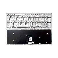 Клавиатура для ноутбука Sony Vaio (VPC-EB) белый, (белый фрейм) Русская