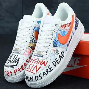Женские Кроссовки Pauly x Vlone Pop Nike Air Force 1 Low White