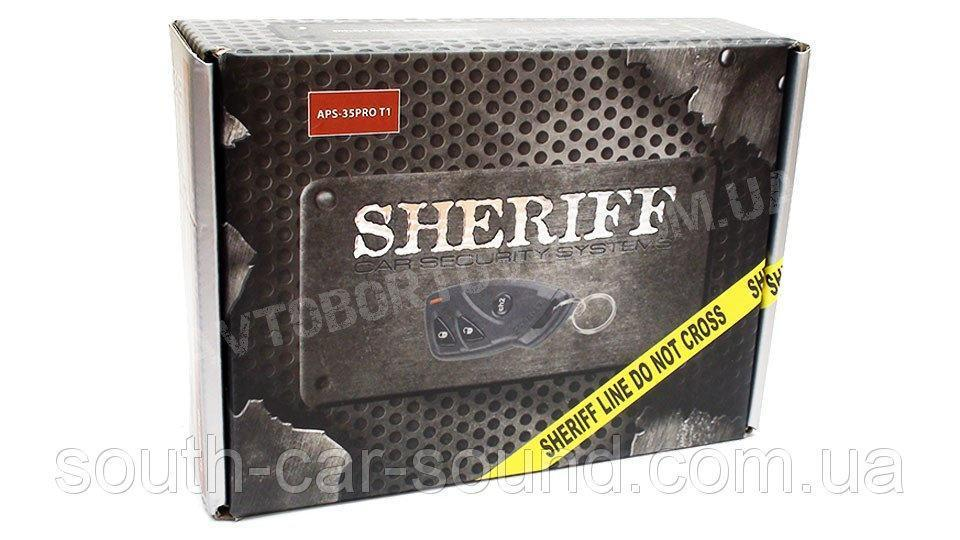 Автосигнализация Sherif APS-35 PRO T1