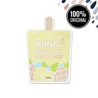 Тканевая маска для лица с экстрактом ананаса A'PIEU Icing Sweet Bar Sheet Mask Pineapple