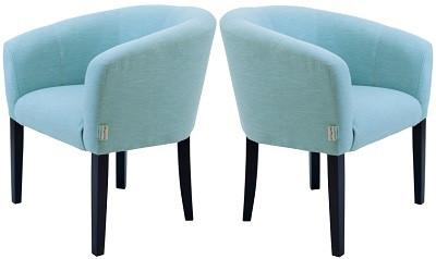 Кресло Версаль светло-голубое - картинка