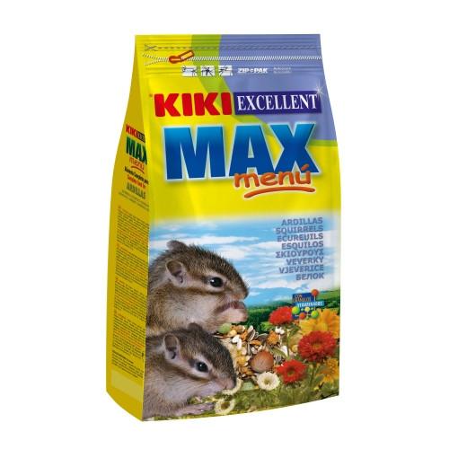 Корм для грызунов KIKI MAX MENU, бурундук, белка, 0,8кг