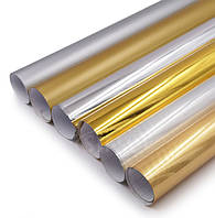 Декоративные авто плёнки (хром, золото, карбон)