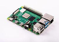 Raspberry Pi 4 Model B (4GB RAM, 1.5 GHz Quad Core, WiFi 2.4/5GHz, Bluetooth 5.0 BLE), фото 1