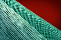 Сетка стеклотканевая зеленая армирующая фасадная штукатурная 145г\м2 - 5*5мм ( для наружных работ