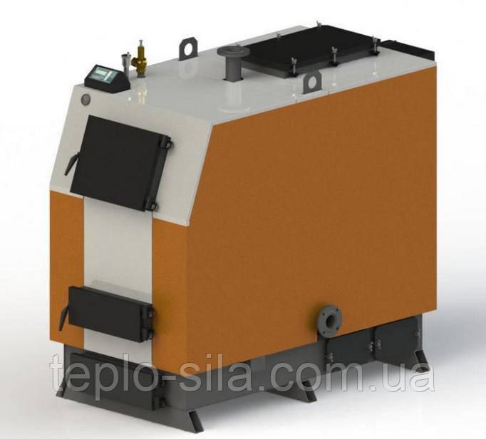 Твердопаливний котел КВ-300 з електронною автоматикою та вентилятором