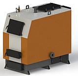 Твердопаливний котел КВ-300 з електронною автоматикою та вентилятором, фото 2