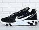 Мужские Кроссовки Undercover X Nike React Element 87 Black/White, фото 2