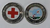 Панама набор 2 х 1 бальбоа 2017 и 2018 красный крест цветные