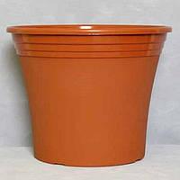 Пластмассовый горшок для цветов Ирис 25