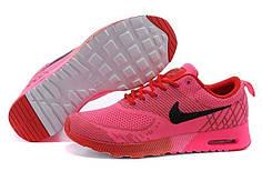 Жіночі кросівки Nike Air Max Thea Flyknit малинові