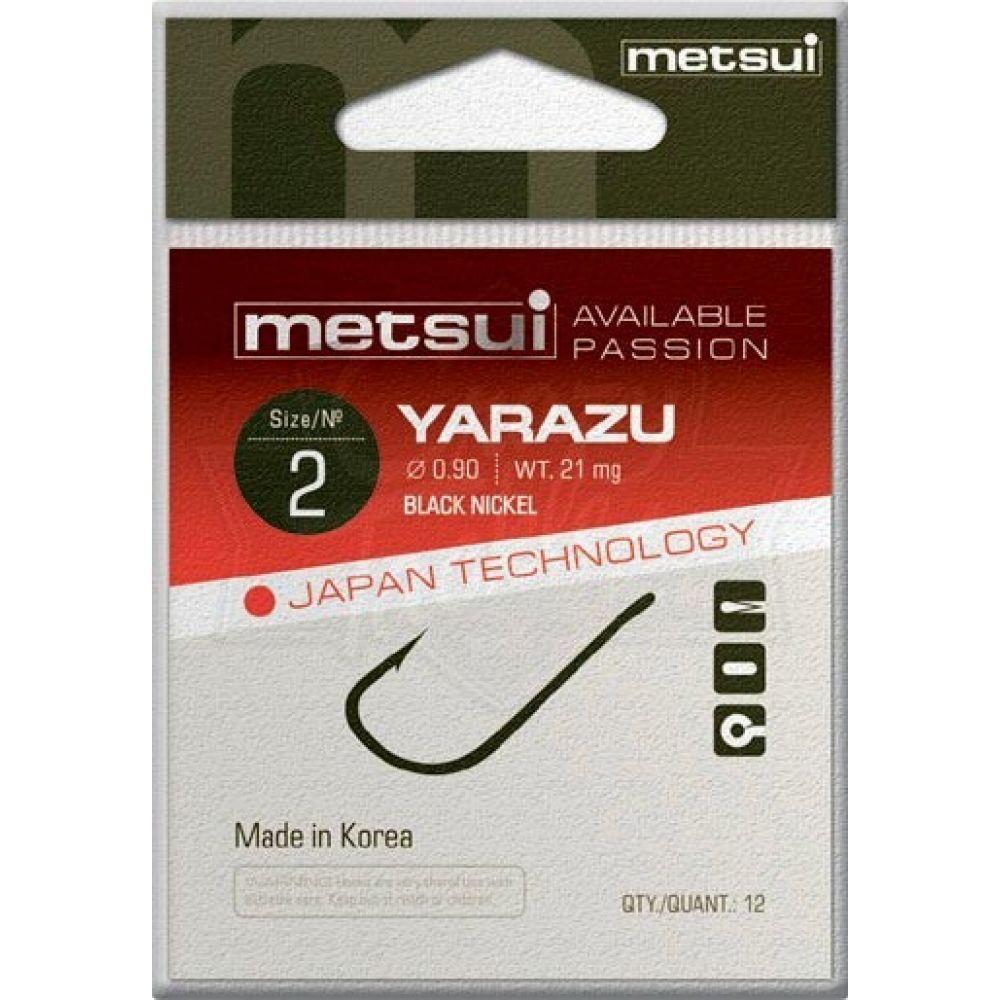 Крючки Metsui YARAZU цвет bln, размер № 12, в уп. 12 шт. (8803720032946)