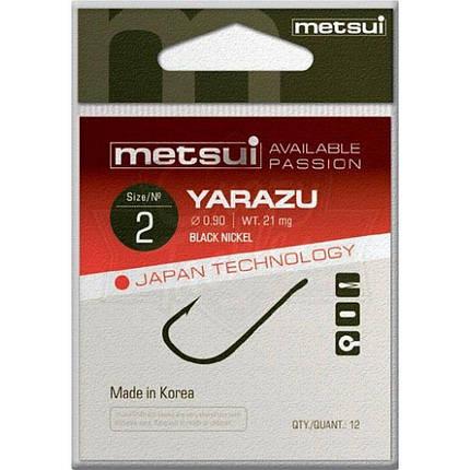 Крючки Metsui YARAZU цвета bln, размер № 14, в уп. 12 шт. (8803720032953), фото 2