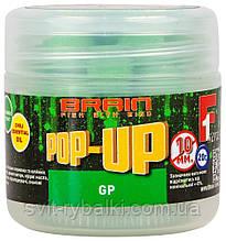 Бойлы Brain Pop-Up F1  10 mm 20 gr Green Peas (зеленый горошек)