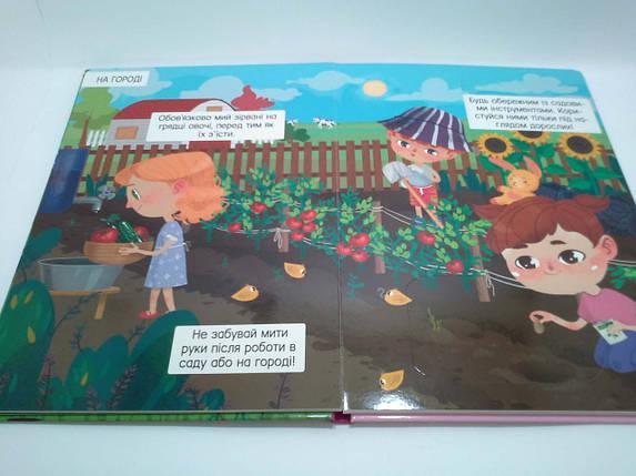 БАО Книжка з секретними віконцями Ферма (укр), фото 2