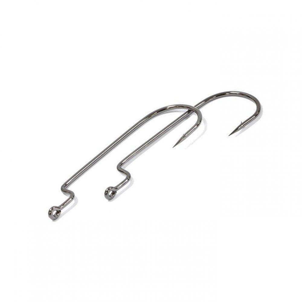 Крючки Metsui OFFSET ROUND WORM цвет bln, размер № 1/0, в уп. 6 шт. (8803720033783)
