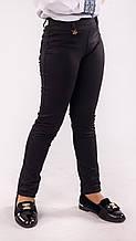 Лосини, Легінси дитячі чорні з поясом і кишенями ззаду