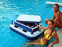 Плавающий надувной минибардля бассейнов Intex