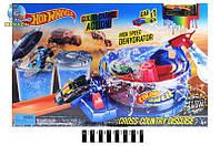Детский трек запуск Hot Wheels 3097-3098-3099 машинка меняет цвет, три вида