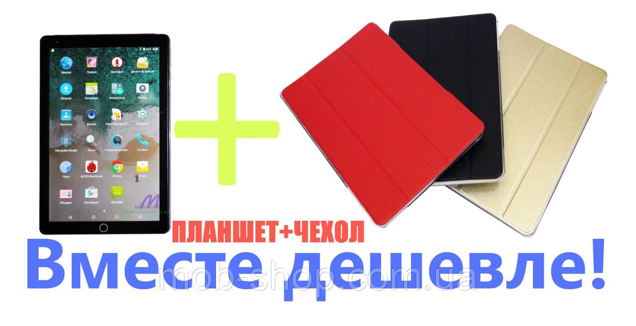 "Комплект планшет-телефон Ipad 10,1"" 2Sim 8 Ядер 2GB\16Gb Android 8.0 + Чехол"