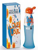 MOSCHINO CHEAP & CHIC I LOVE LOVE EDT 100 мл женская туалетная вода