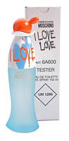 MOSCHINO CHEAP & CHIC I LOVE LOVE EDT 100 мл ТЕСТЕР женская туалетная вода