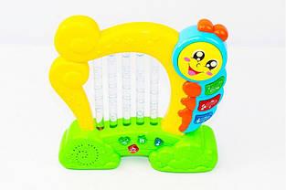 """Музыкальная развивающая игрушка """"Чудо Арфа"""" 7699 (3 цвета)"""