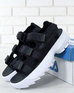 Мужские Сандалии FILA Disruptor Sandals Black