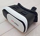 Очки виртуальной реальности VR Box 2.0 - 3D с пультом джойстиком Glasses 3д shinecon (23423rd) телефона шлем, фото 8
