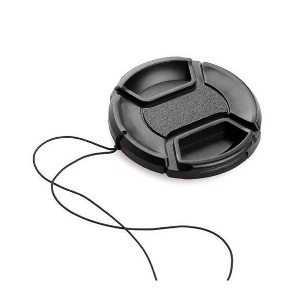 Защитная крышка для объектива универсальная 58 mm.
