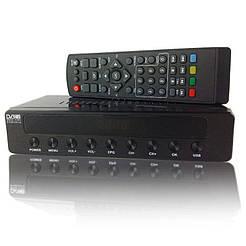 Цифровой эфирный тюнер T2 Set Top Box. Цифровой ресивер т2 dz045